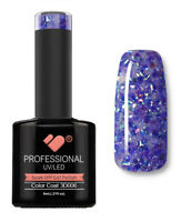 3D-006 VB™ Line Purple with Blue Glitter - UV/LED soak off gel nail polish