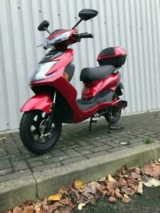 Electric Bike Scooter Moped UK Road Legal No Licence Tax Insurance needed YW