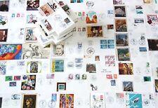 600 Ersttagsbriefe Briefe Schweiz Frankreich Holland Briefmarken 1970 - 1980