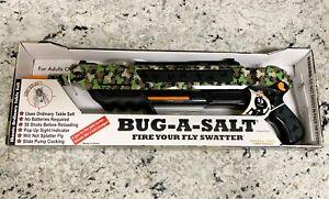 BUG-A-SALT Camo Print Salt Gun (New, Unopened)