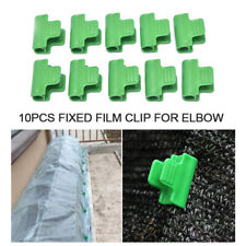 10pcs Plastic Pipe Clamps For Greenhouse Frame Pipe Film  Fixing Clamp ClipS MB