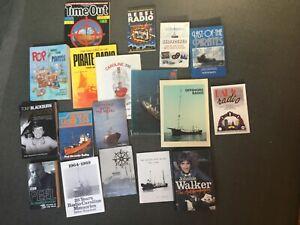 """Book Collection"" ""Pirate radio"" ""Offshore radio"" ""DJ"" ""Radio Caroline"""