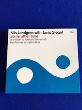NEW Nils Landgren Janis Siegel Some Other Time CD Promo Copy Jazz ACT 2016
