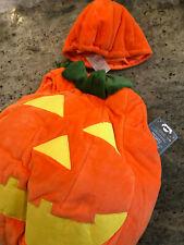 Pottery Barn Kids Toddler Glow-in-the-Dark Pumpkin Halloween Costume 4-6 New