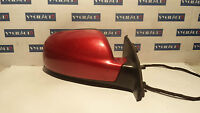 2007 PEUGEOT 307 RIGHT DRIVERS SIDE WING MIRROR 96577211XT RED OEM