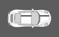Porsche 911 (991) Bonnet & Roof Double Twin Stripe Decal Graphics Set. Non OE