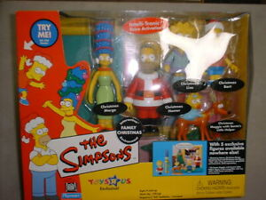 Simpsons WOS - Family Christmas Set- with 5 figures.