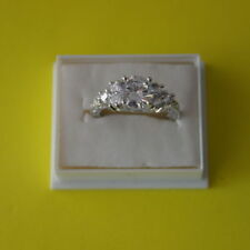 Unbranded Diamond White Gold Filled Costume Jewellery