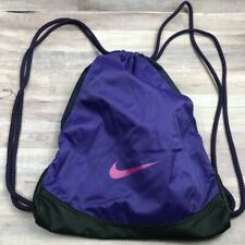 Nike Purple Drawstring Backpack