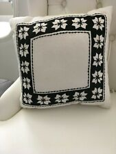 Throw Pillow White Nordic Star - Hearth & Hand With Magnolia