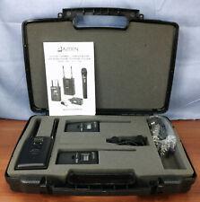Azden 330-ULT UHF Dual-Channel Camera Wireless Mic System 35BT 330UPR EX-503L