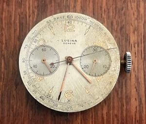 Valjoux Caliber 23 Chronograph Watch Movement Perfect Balance and Hairspring