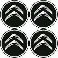 Radnabenkappen Citroen  Embleme  Aufkleber  Nabendeckel Radkappen  4 x 56mm
