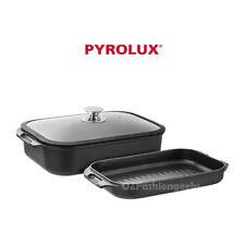 HOT DEAL Pyrolux Induction HA+ Roast & Grill 3pc Set PFOA Free RRP$279 11280 PI