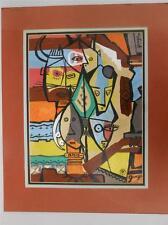 THOMAS HARVEY DRYCE 1904-1984 LISTED  OHIO NEW MEXICO SANTA FE WESTERN ABSTRACT