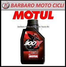 OLIO MOTORE MOTUL 300V 300 V 10W40 4T 100% SINTETICO FACTORY LINE RACING 1 LITRO