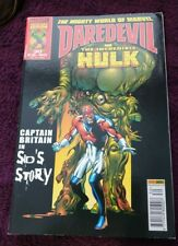 Marvel collector's edition the mighty world of marvel Daredevil & hulk #30