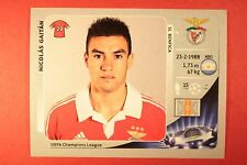 PANINI CHAMPIONS LEAGUE 2012/13 N. 471 GAITAN BENFICA BLACK BACK MINT!