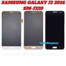 DISPLAY LCD TOUCH SCREEN SAMSUNG per GALAXY J3 2016 SM-J320FN J320 VETRO SCHERMO