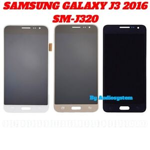 DISPLAY LCD TOUCH SCREEN SAMSUNG per GALAXY J3 2016 SM-J320FN J320 VETRO SCHERMO