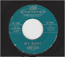 BOBBY ALLAN  -  MY BABY  /  THE ONLY ONE           CHALLENGE 9193