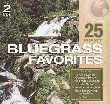 25 Best: Bluegrass Favorites by Steve Ivey (CD, May-2008, 2 Discs, Madacy...New