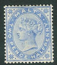 Malta 1885 ultramarine 2.5d mounted mint SG26