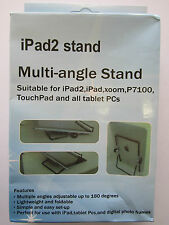 "Ipad 1/2/3/4 9.7"" Metal Frame Multi Angle Position Stand Desktop Holder"