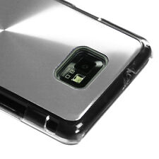 Straight Talk Samsung Galaxy II 2 S959G METAL COSMO Hard Case Phone Cover Silver