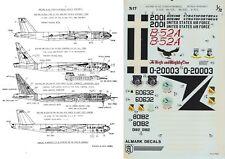 ALMARK DECALS 1/72 B-25A/E/G NB-52A Stratofortress AFFTC AFFDL X-15 (USAF/NASA)