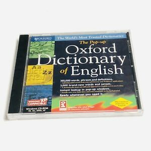 The Pop-up Oxford Dictionary of English Windows CD-ROM