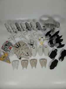 Star Wars Command Mini Lot Millennium Falcon Vehicles  30+ Piece Lot Hasbro LFL