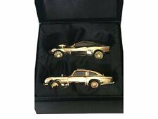 Corgi James Bond 40th Anniversary Gold Plated Twin Set Db5 & Vanquish