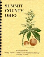 Summit County Ohio History: Howe & Others Akron University Cuyahoga Falls
