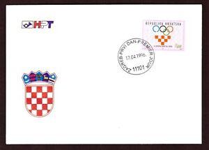 Kroatien Mi-Nr. ZZ 78 - FDC - Nationales Olympisches Komitee (NOK)