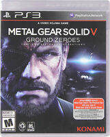 METAL GEAR SOLID V - GROUND ZEROES (TRILINGUAL COVER) (PLAYSTATION3)