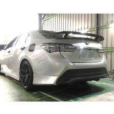 Matte Black For Toyota Corolla Altis 11th Rear TX Look Trunk Spoiler with Stand