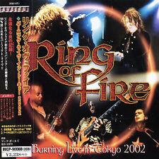 RING OF FIRE - BURNING LIVE IN TOKYO 2002 [BONUS TRACK] * NEW CD