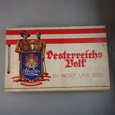 Zigarettenbilder Album: Abadie Oesterreichs Volk 1932 (41891)