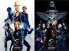 X-Men Apocalypse - original DS movie poster - 27x40 D/S - Advance Set INTL x2