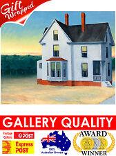 NEW Edward Hopper - Cape Cod Sunset, 1934 - Ashcan Giclee Art Print or Canvas