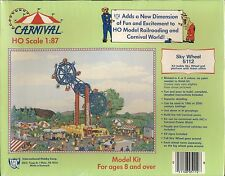 Sky Wheel Carnival Amusement Ride Ticket Office Model Kit HO Scale 1:87 IHC Trai