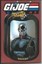 G.I. Joe The Worst Of Destro Vol. 3 IDW Marvel Comics Hasbro Graphic Novel TPB