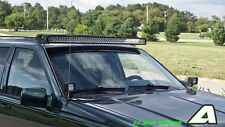 """50"""" Curved LED Light Bar Roof Mounts Jeep Grand Cherokee"""