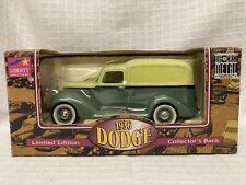 1936 Dodge Van Collectors Bank Liberty Classic Limited Edition Sea Green Metal