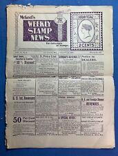 Mekeel's Weekly Stamp News - My 3, 1900 & January 28, 1897 - Postal History !