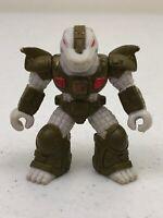 1986 Hasbro Battle Beasts Gruesome Gator Series 1 #15 Figure Toy w/ No Rub