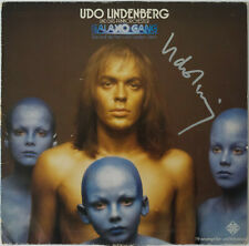 UDO LINDENBERG - GALAXO GANG - LP - Autogramm auf Hülle signiert