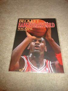 Beckett Basketball Magazine Michael Jordan Issue #1 First issue