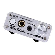 Amplificatore microfono eco a due canali per karaoke / registrazione /